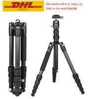 CAVIX P0225BOC Professional Tripod with Ball Head Carbon Fiber for DSLR Camera