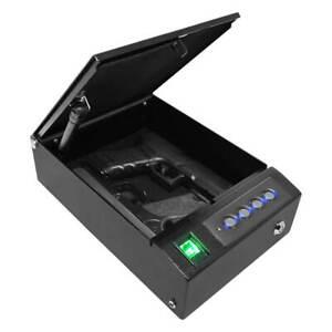 Stealth SwiftVault Biometric Fingerprint Pistol Safe Quick Access Top Opening