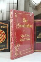OUR CONSTITUTION - Easton Press - LARGE BOOK  SEALED w/BOX