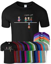 WHERE'S WILL Stranger Things 8 Bit Mens Womens T Shirt ELLE ELEVEN Funny T-Shirt