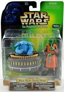 Star Wars POTF2 Max Rebo Band Pairs Doda Bodonawieedo & Max Rebo Figures MOMC