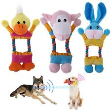 Plush Toys Animal Shape Chew Sound Squeaker Squeaky Play Toy for Pet Puppy Dog