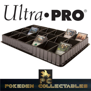 Ultra Pro Pokémon and Card Sorting Collectors Tray and Dealer Storage 18 slots