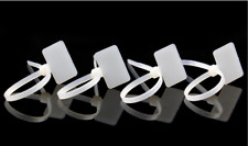 20pcs/lot 4X150  Ethernet Wire Zip  Cable Ties Tie  Mark Tags Nylon Label Write