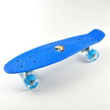 Flashing Led Skateboard Complete Street Long Board Kids Penny Style Scooter 22''