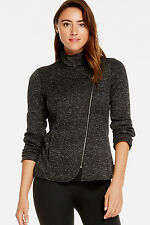 Fabletics Calypso Jacket Size Small/10 Uk NEW RRP £99.95 Black/Winter White