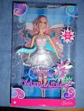 Barbie Fairytopia Mermaidia Glitter-Swirl Fairy 2006 Mattel MIB!!