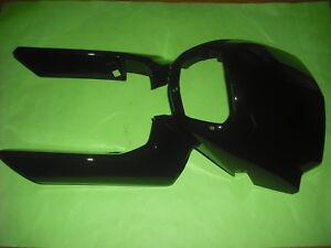 * Yamaha XT125X XT125R XT 125 Body Cowling Lampenmaske schwarz Fork Protector