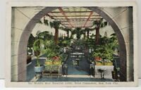Hotel Commodore, The World's Most Beautiful Lobby, New York City Postcard B3
