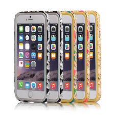 Luxury Diamond Crystal Metal Bumper phone case for iPhone6&6+ Samsung N3 S4 S5