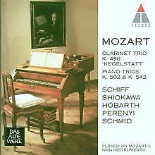 Trios K. 498 / 502 / 542 von Schiff | CD | Zustand sehr gut