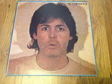 PAUL McCARTNEY McCartney II Parlophone1C 06463812 classic pop LP from 1980 Greek
