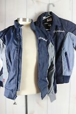 Vintage Hondaline Womens Sz Sm 6-8 Lined Jacket & Windbreaker Aspencade Goldwing