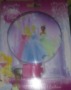 Led Night Light Veilleuse Del Disney Princess Rotary Shade New