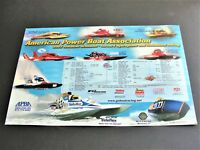 American Power Boat Association-2003 Tentative Schedule of Events Photo Poster.