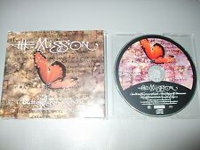 The Mission - Butterfly on a Wheel (CD) 3 Track Picture Disc - Nr Mint