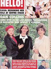JOAN COLLINS - PRINCESS DIANA -  British HELLO! Magazine June 7th 1997 C#31