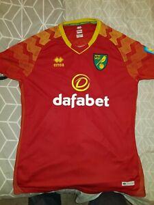 Norwich city away football shirt