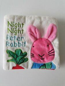 Night Night Peter Rabbit Soft Cloth  mamamiya &papas babyplay  Crinkly Pages