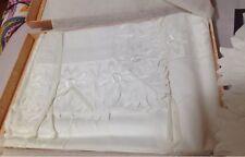 Mastro Raphael Italy NWT 4pc King Sheet Set 100% Cotton Embroidery Rare