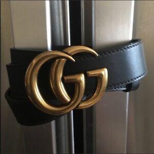 Authentic Gucci GG Belt Size 85cm 27-30 waist