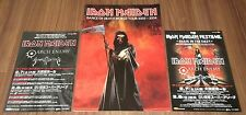 Iron Maiden JAPAN 2003 tour book DANCE OF DEATH + 2 PROMO flyers CONCERT PROGRAM