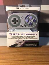 MY ARCADE Super Gamepad Wireless Turbo Controller NES Classic Edition