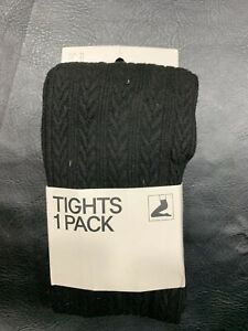 Womens Stockings Socks Black Size Medium