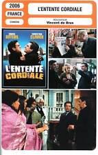FICHE CINEMA : L'ENTENTE CORDIALE - Clavier,Auteuil,Cleese 2006