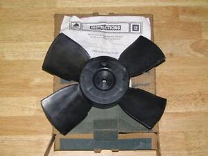 84-87 Cavalier Sunbird Skyhawk Firenza 2.5L 2.8L 3.0L Engine Coolant Fan NOS