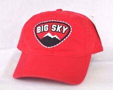 *Big Sky Montana* Children's Kid's Ski Snowboard Ball cap hat Ouray