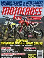 Motocross Action February 2021  Husqvarna FC450 vs Honda CRF450