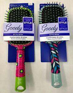 GOODY STYLISTA PADDLE HAIR BRUSH 2PK