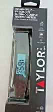 Taylor Pro Commercial Precision Thermocouple Thermometer Model 538