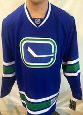 Reebok Premier NHL Jersey Vancouver Canucks Team Blue Alternate sz 3X