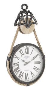 Orologio da parete CHARLES CARRUCOLA 399-1 BIZZOTTO in acciaio E VETRO