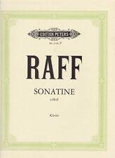 Joseph Joachim Raff: sonatine, para piano a dos manos, Opus 99 nº 1