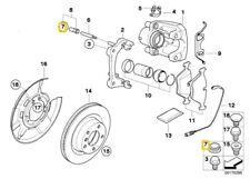 BMW 1 serie E81 E87 E82 E30 E90 E91 E92 Enchufe Protector 34111154979