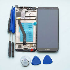 Huawei Y6 2018 ATU-L11 Frame LCD Display Touch Screen Digitizer Assembly black