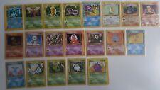 Pokemon TCG 1999-2002 Near Mint and Good Card Lot (22) Rare, Uncommon, Common