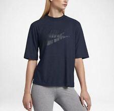 Nike Sportswear Short Sleeve Top- Women's Size XL- Obsidian