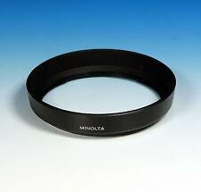 Minolta controluce Mascherina Lens Hood for a 28-80/3.5-5.6 Bayonet Mount - (90065)