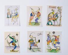 Oleg Kuvaev Postkartenset  6 Postkarten