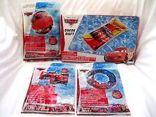 Disney Pixar Cars Lightning McQueen Beach Ball,Swim Arm Bands,Swim Ring, & Raft