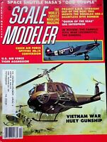 Vtg. Scale Modeler Magazine October 1980 US Air Force Tiger Aggressor m77