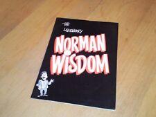 NORMAN WISDOM - TOUR PROGRAMME - 1990s - RARE
