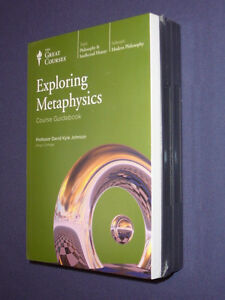 Teaching Co Great Courses  CDs  :      EXPLORING  METAPHYSICS     new & sealed