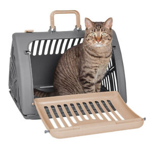 SportPet Designs Foldable Travel Cat Carrier with A Bed