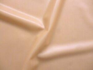 Latex Rubber 0.20mm Thick, 92cm Wide, Semi Transparent Peach, Slight Seconds