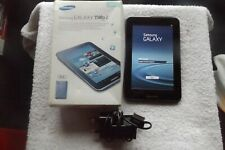 SAMSUNG GALAXY TAB 2 7.0 TITANIUM SILVER 1GHz dual core processor 3MP camera